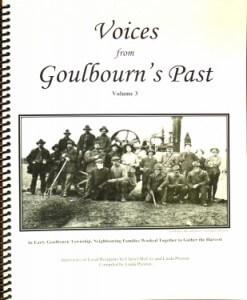 Voices from Goulbourn's Past - Volume 3