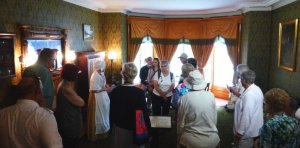 GTHS Members in the Bellvue House Drawing Room