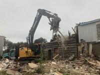 Switzer-Blacksmith-shop -September-2020 Demolition - photo by Marc Lamarche