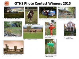 GTHS Photo Contest Winners 2015